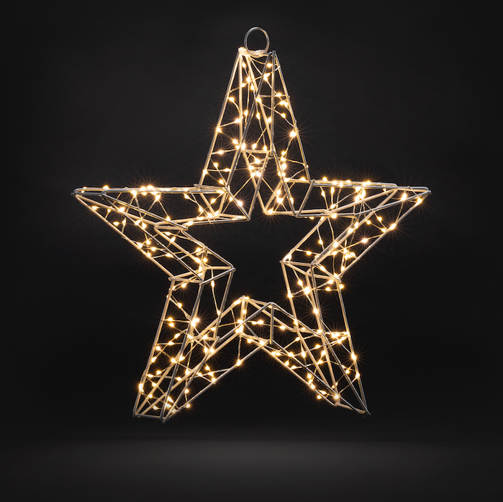 3D Star Christmas Light