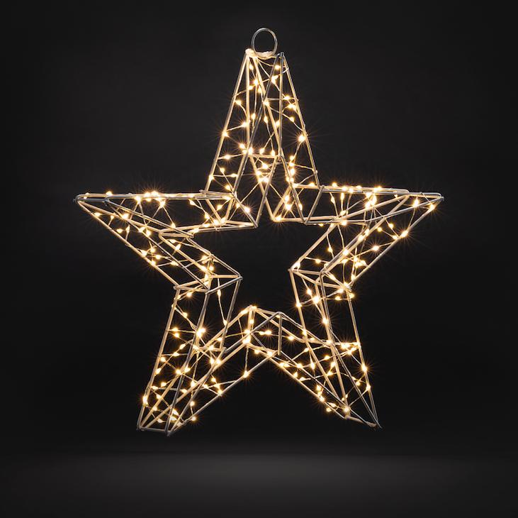 3D Star Christmas Light